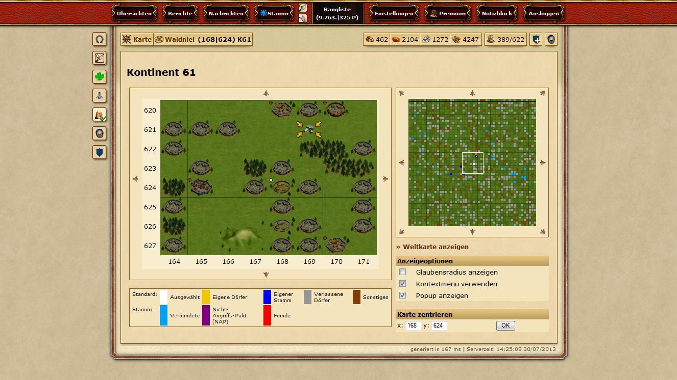 Browsergames Aufbaustrategie