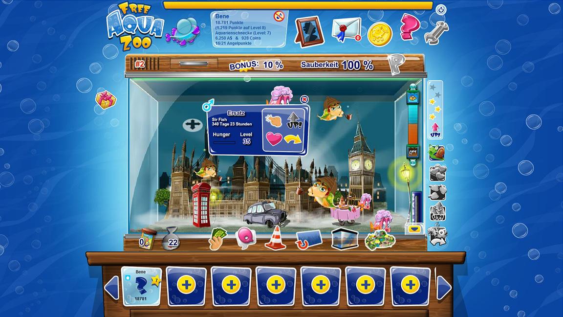 Free Aqua Zoo - Fischfreunde aufgepasst! - Gamechannel.com